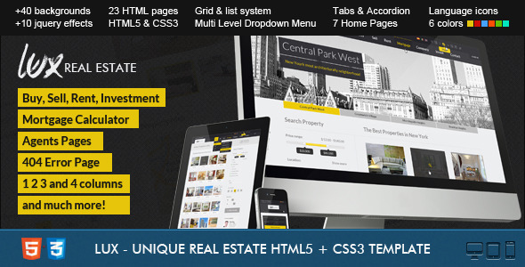 Dot Real Estate HTML5 & CSS3 Template - 10