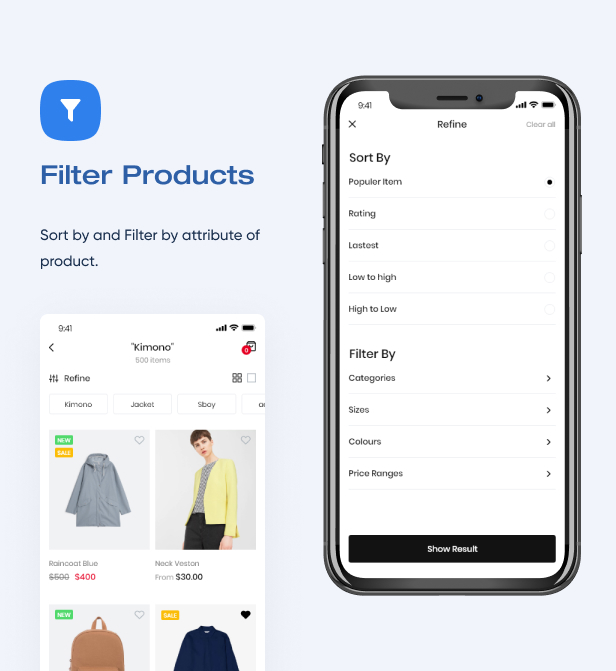 Filter Product