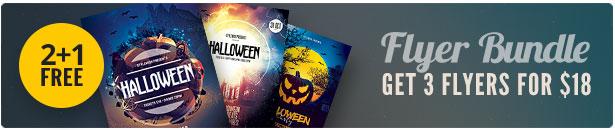 Halloween Flyer Bundle Vol.05