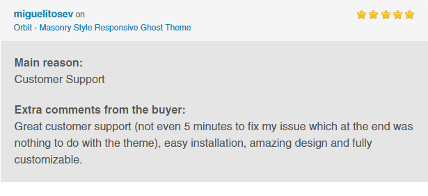 Orbit - Masonry Style Responsive Ghost Theme - 1