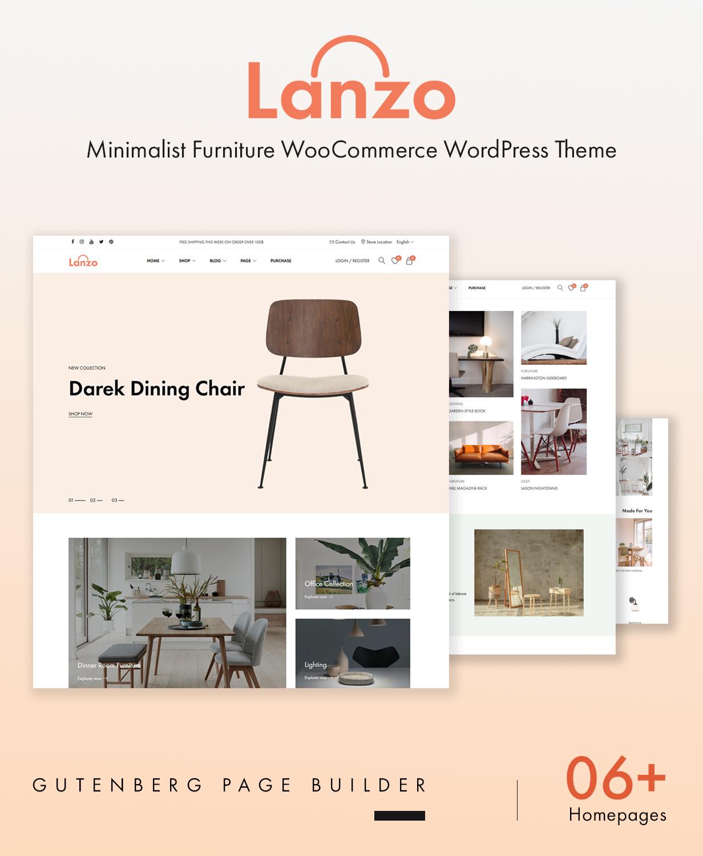 Lanzo - Gutenberg WooCommerce WordPress Theme - 2