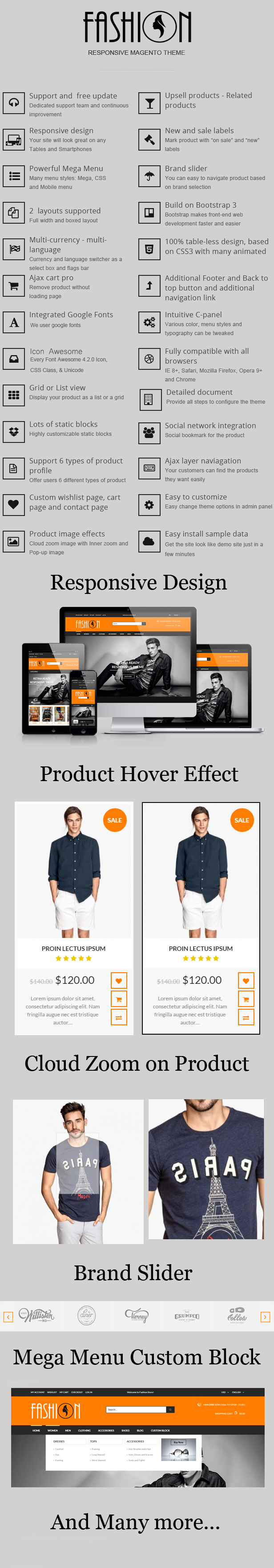 Fashion - Responsive Magento Theme - Fashion