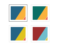 TransVision theme - Multicolor scheme