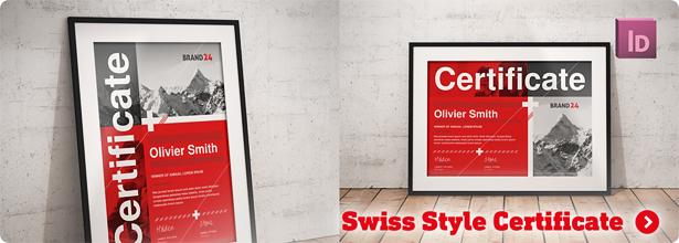 Swiss Style Bifold Brochure - 3
