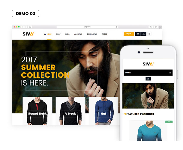 VG Siva - Creative, Minimalist WooCommerce Theme - 16