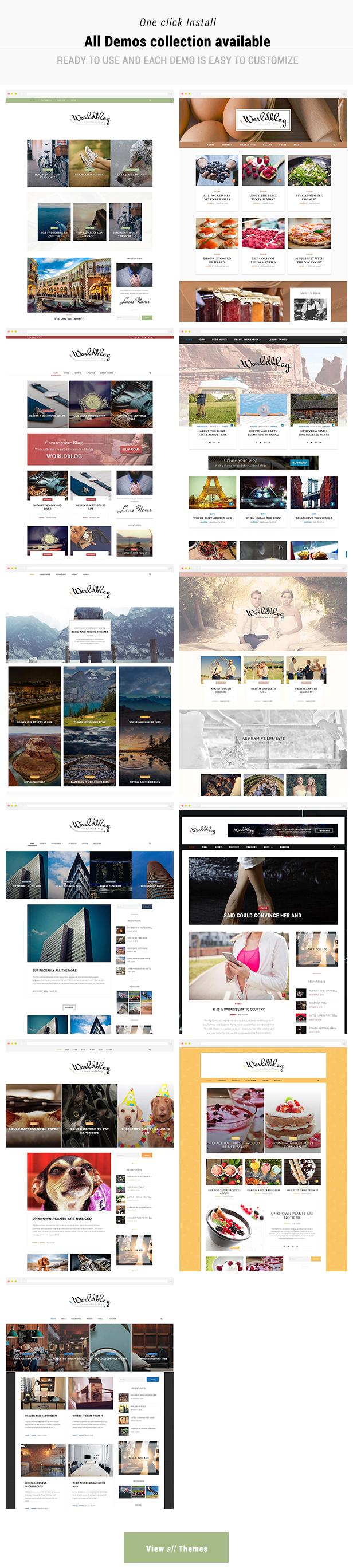 Worldblog - WordPress Blog and Magazine Theme - 3