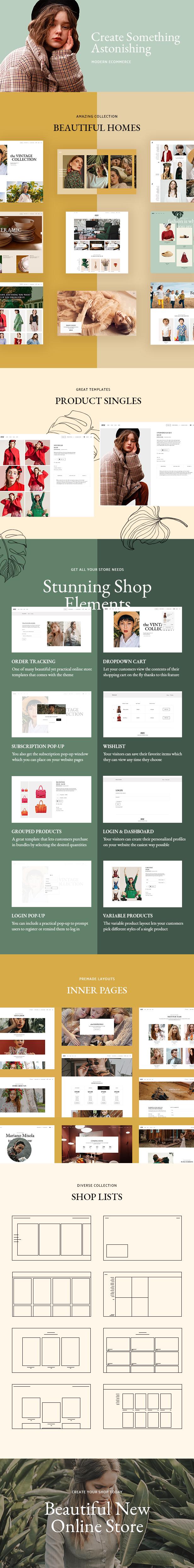 Fey - Modern eCommerce Theme - 1