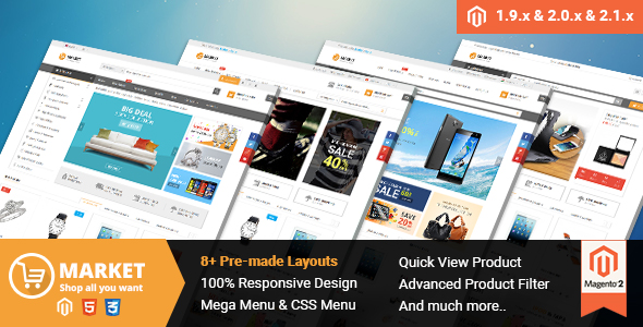 Best Free and Premium Magento 2.1 Themes in 2016 - Market