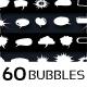 60 Speech Bubbles - GraphicRiver Item for Sale