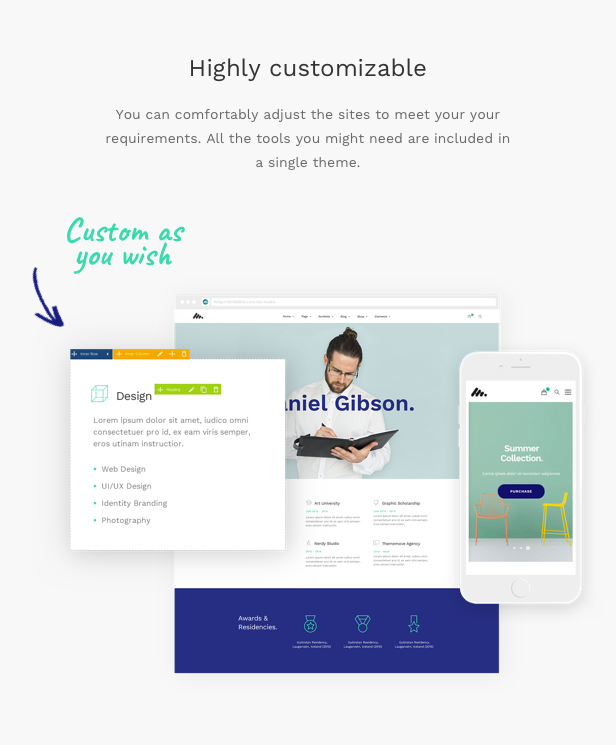 Moody - A Modern & Flexible Multipurpose WordPress Theme