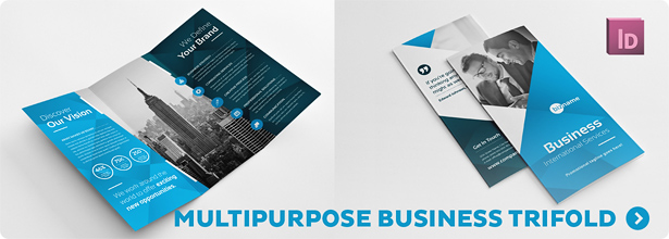 Business Corporate Trifold Brochure - 2