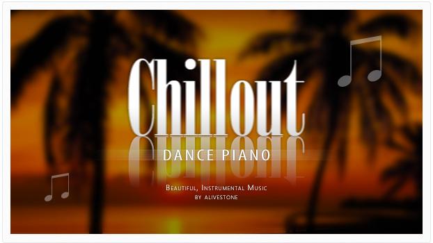 chillout dance piano music