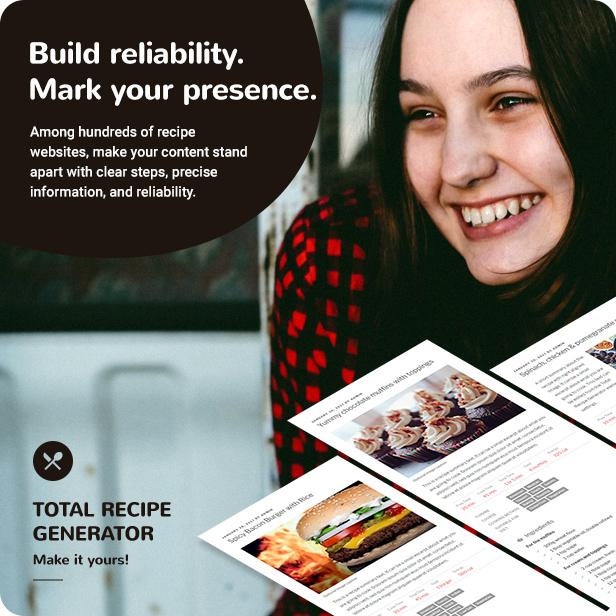 buy total recipe generator plugin