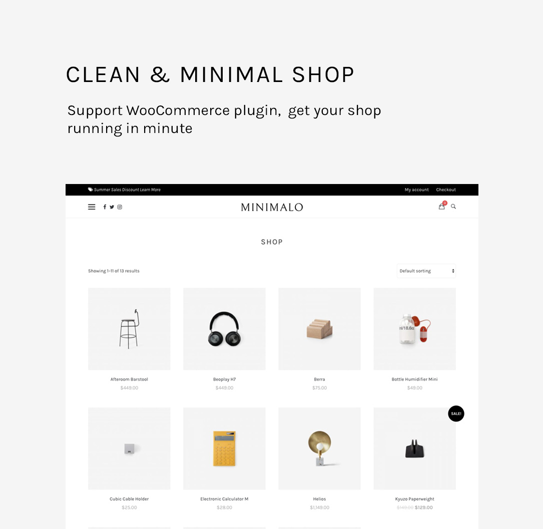 Minimalo - A Minimal Blog WordPress Theme for Creative Websites - 10