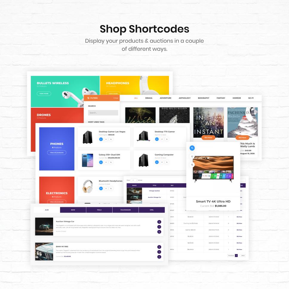 iBid - Multi Vendor Auctions WooCommerce Theme - 30