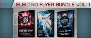 Electro Music Flyer Bundle Vol. 39 - 2