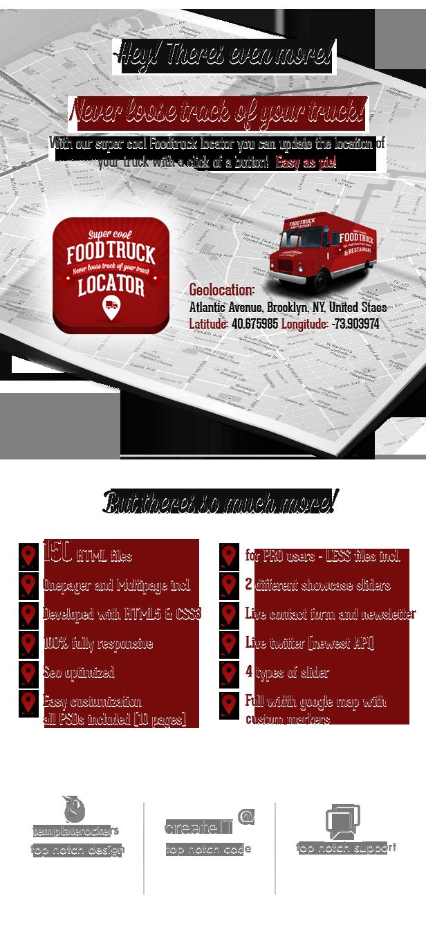 Food Truck & Restaurant 20 Styles - WP Theme