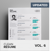 Clean Resume Vol. 5 - 17