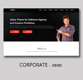 Software, Technology & Business Bootstrap Html Template - Jekas - 9