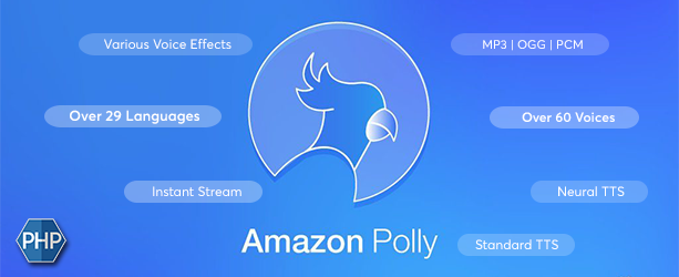 AWS Amazon Polly Text to Speech Converter - 1