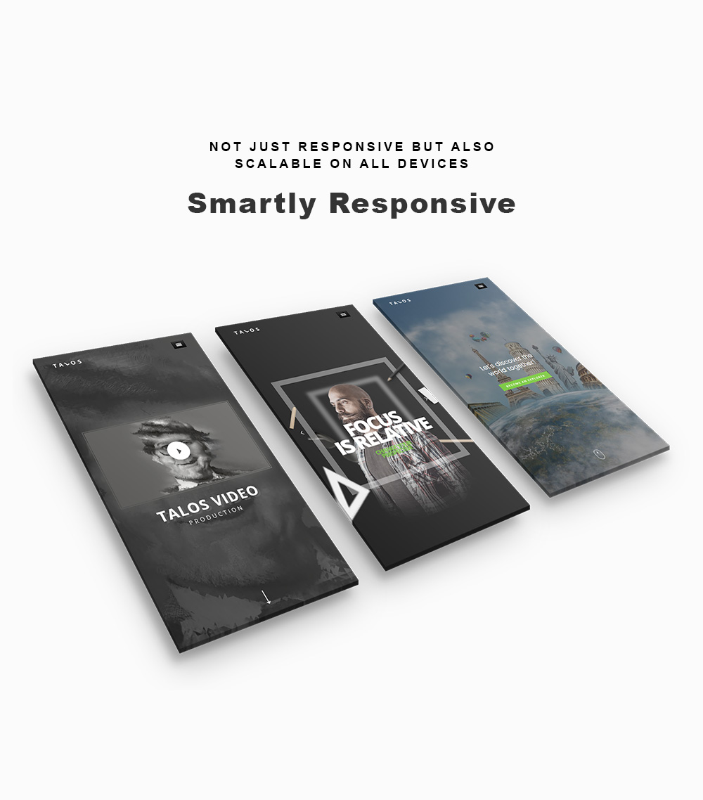 Talos 3 - Creative Multipurpose WordPress Theme