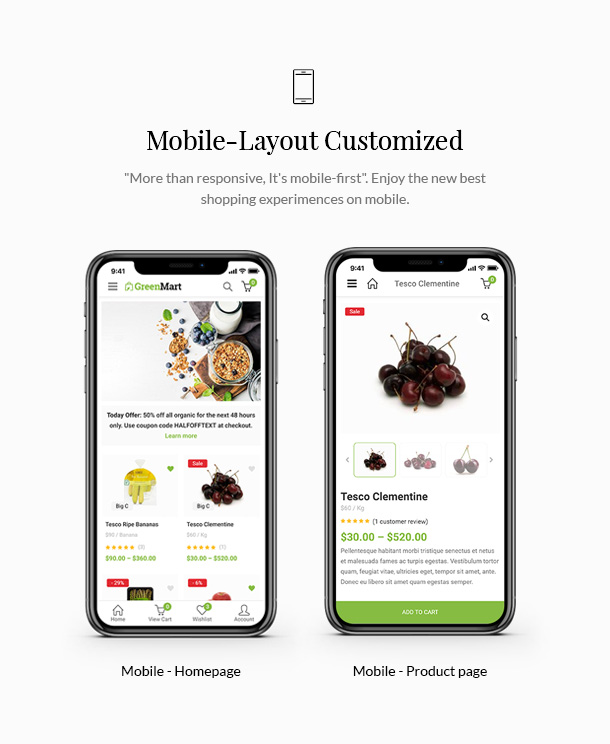 GreenMart – Organic & Food WooCommerce WordPress Theme - 13
