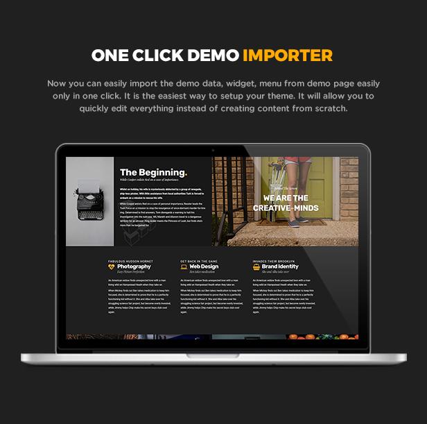 Gerlong - Responsive One & Multi Page Portfolio Theme - 7