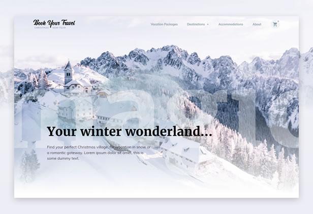 Christmas & New Year WordPress Theme