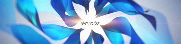 Clean Gentle Flower Logo Reveal Title After Effects Templates