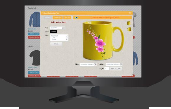 OpenCart Özel tişört Tasarımı - 9