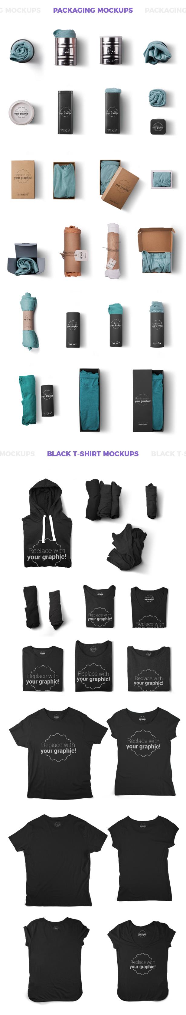 T shirt mockups and packages hero images scene generator for Mockup generator t shirt