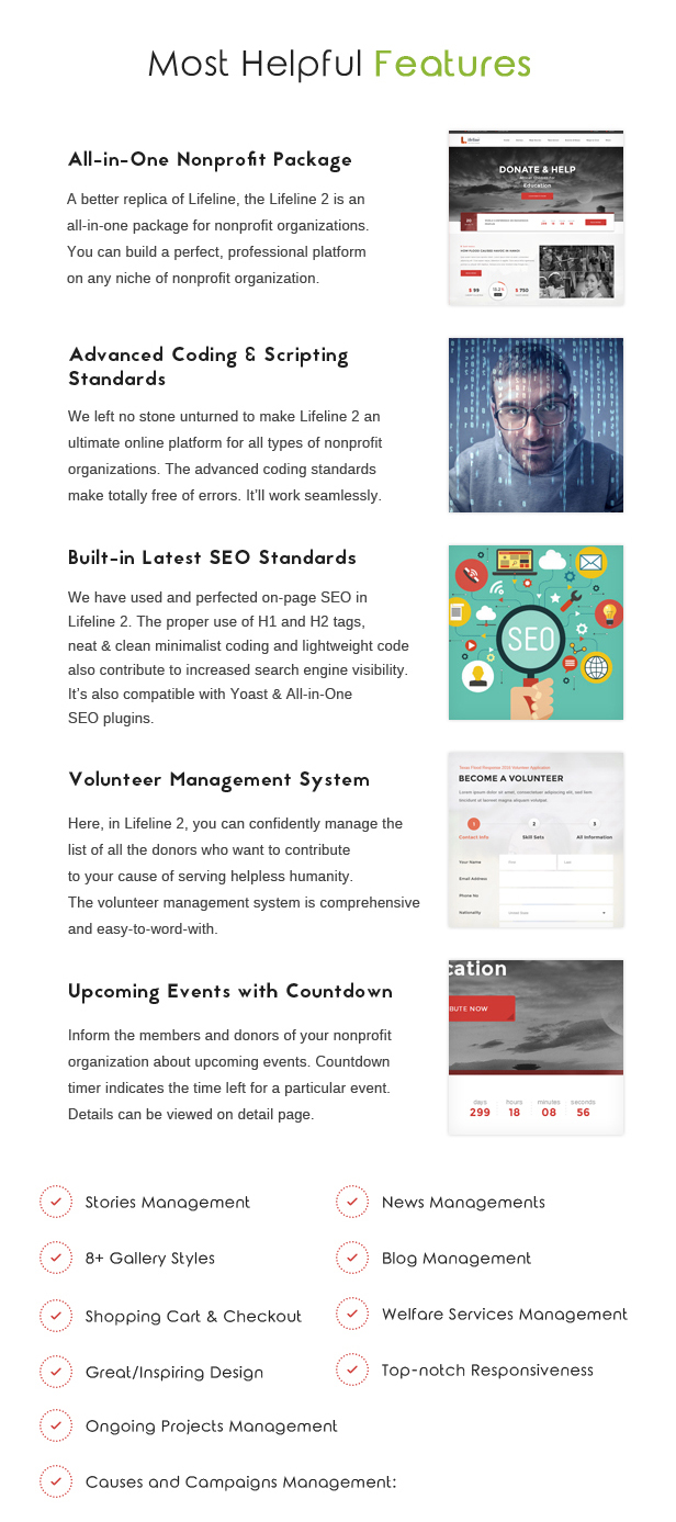 Lifeline 2 - An Ultimate Nonprofit WordPress Theme for Charity, Fundraising and NGO Organizations - 13
