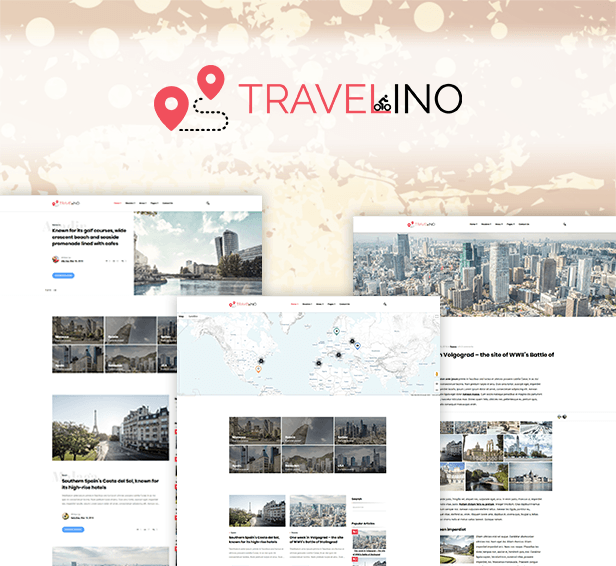 Travelino - WordPress Travel Theme