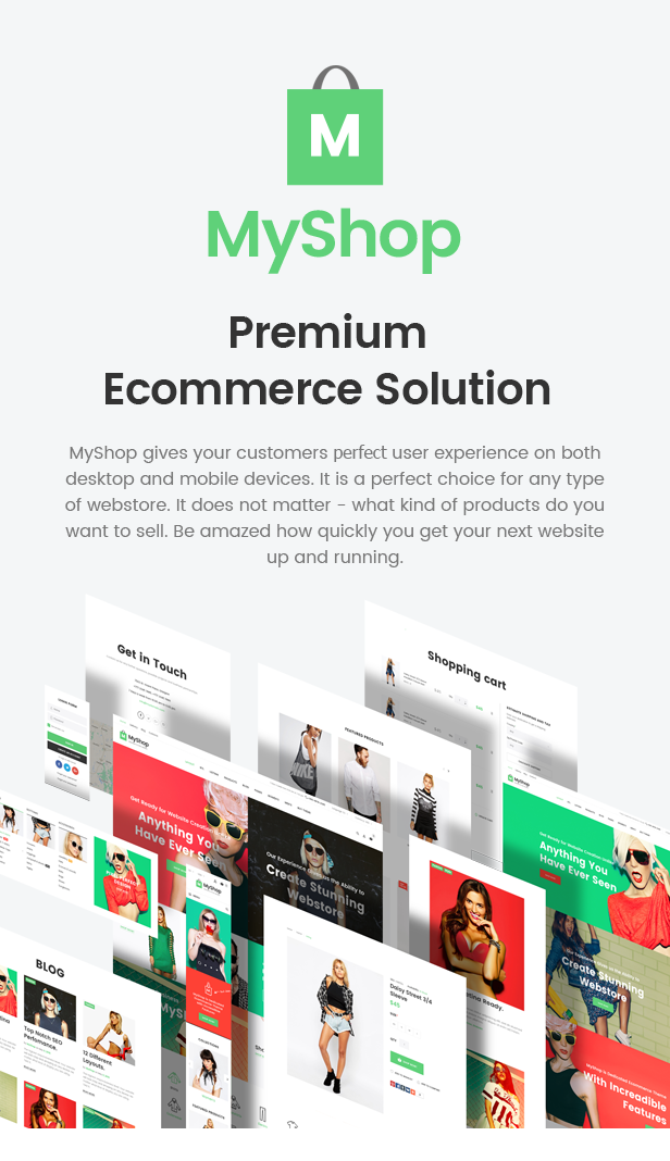 MyShop - eCommerce HTML template
