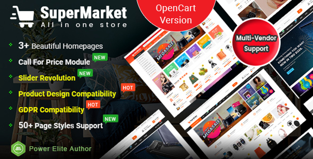 Supermarket - Opencart 3 Theme