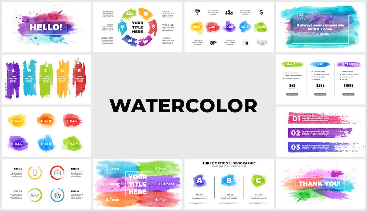 Huge Infographics Bundle! Lifetime Updates! PowerPoint, Photoshop, Illustrator. - 193