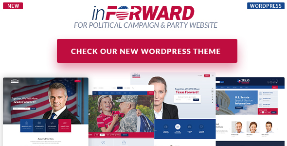 Candidate - Political/Nonprofit/Church WordPress Theme - 1