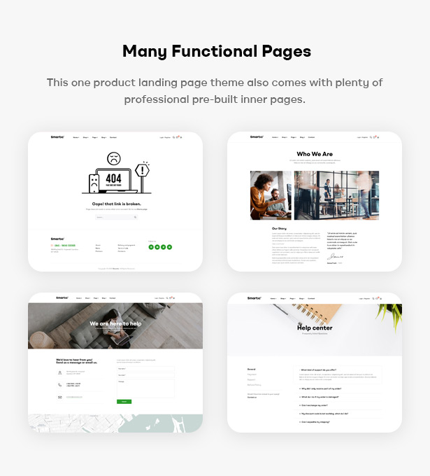 Smartic - Product Landing Page WooCommerce Theme