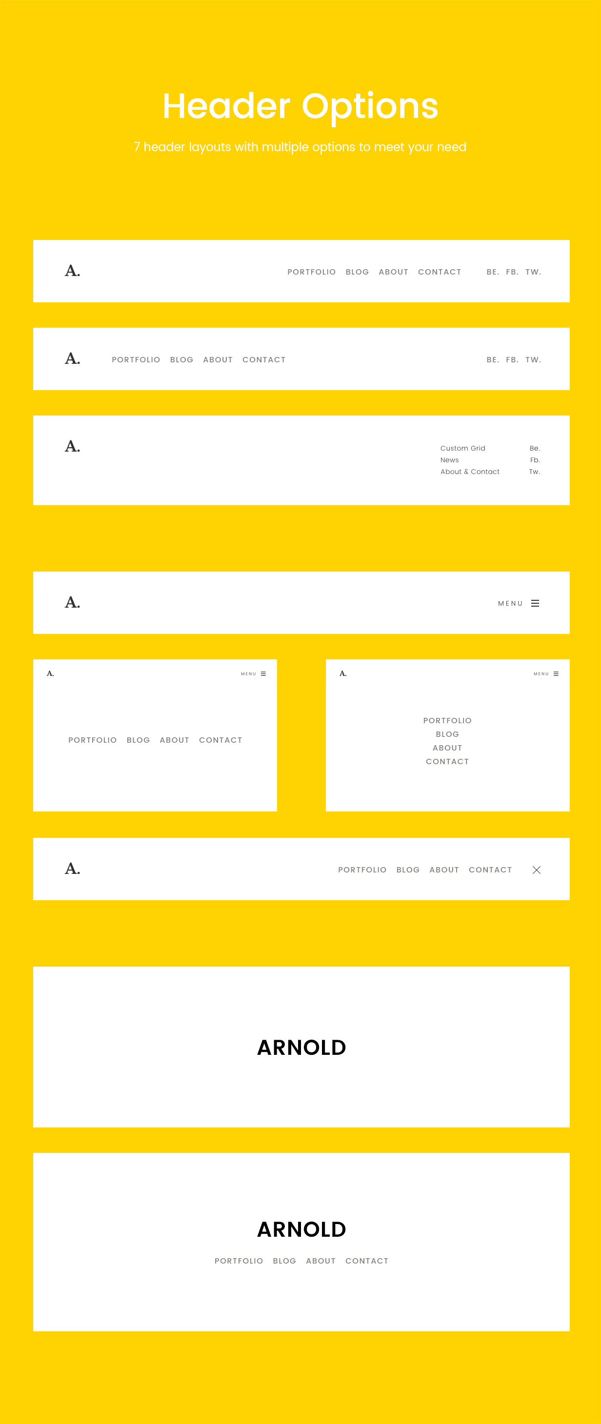 Arnold_WordPress_Theme_8_Header_layouts