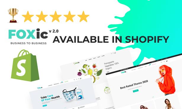 Foxic - Shopify Theme