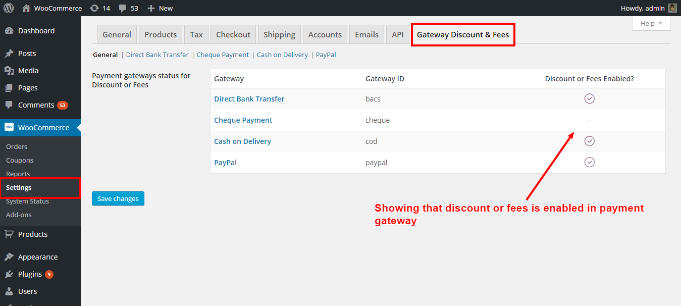 WooCommerce - Payment Gateways Discount and Fees - 1