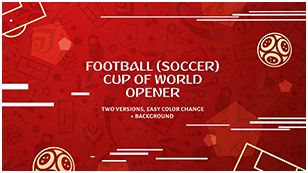 Football (Soccer) Cup of World Fast Opener