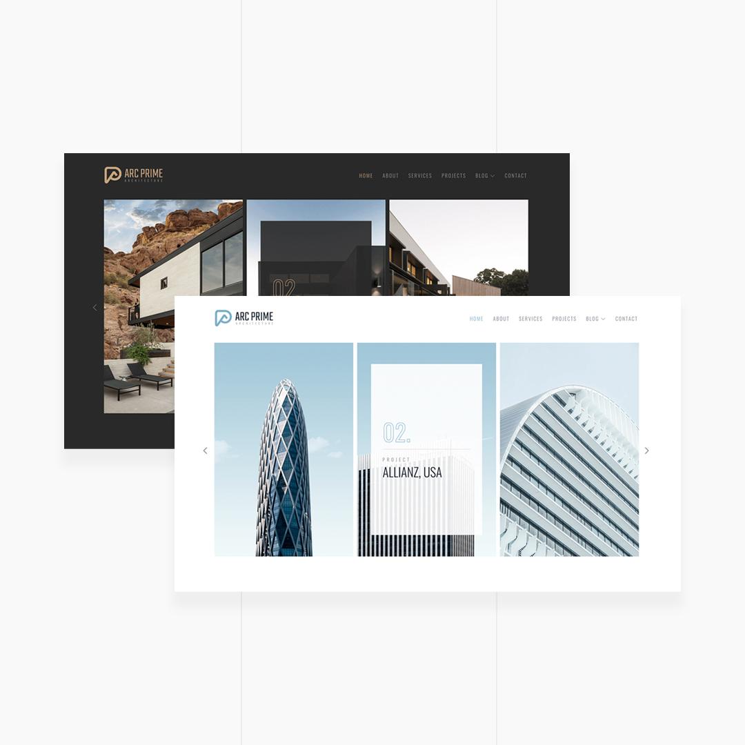 ARC PRIME - Minimal Architecture & Interior Template