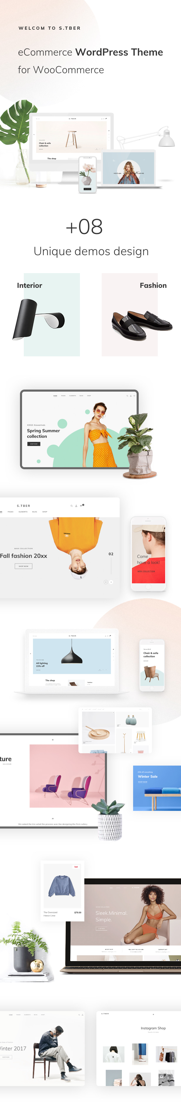 Stber - eCommerce WordPress theme for WooCommerce
