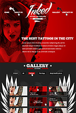 The Bebop Anime and Comic HTML Convention Template - 65