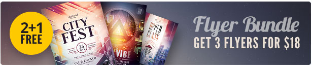 City Flyer Bundle Vol.12