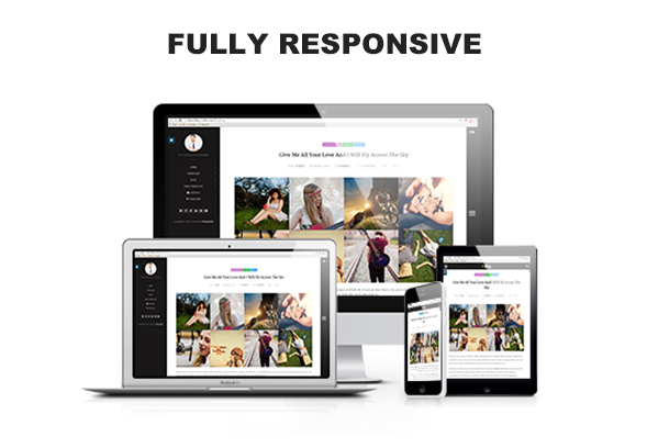 FlexyBlog - Responsive Personal Blog Template - 3