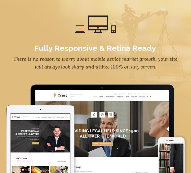 Trust Business - Lawyer and Attorney WordPress Theme - 9