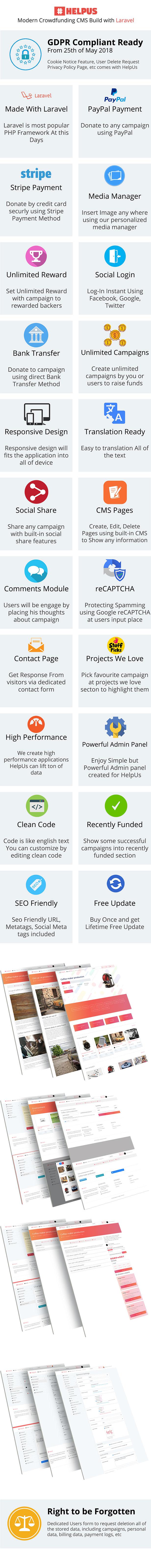 HelpUs - Ultimate Crowdfunding Solution - 1