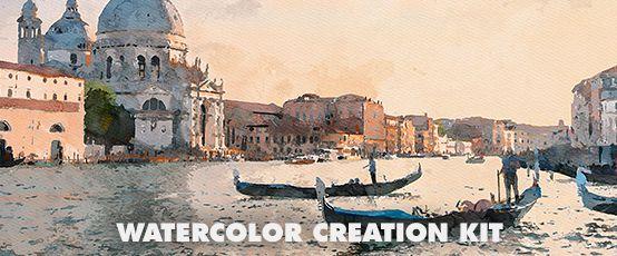 Watercolor Photoshop Action - 25